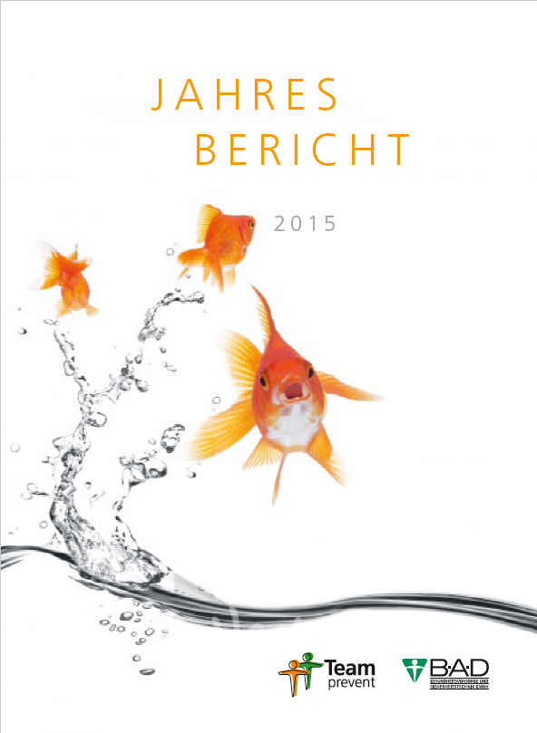 Der aktuelle Jahresbericht der B·A·D GmbH für 2015